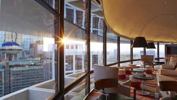hyatt rotating restaurant