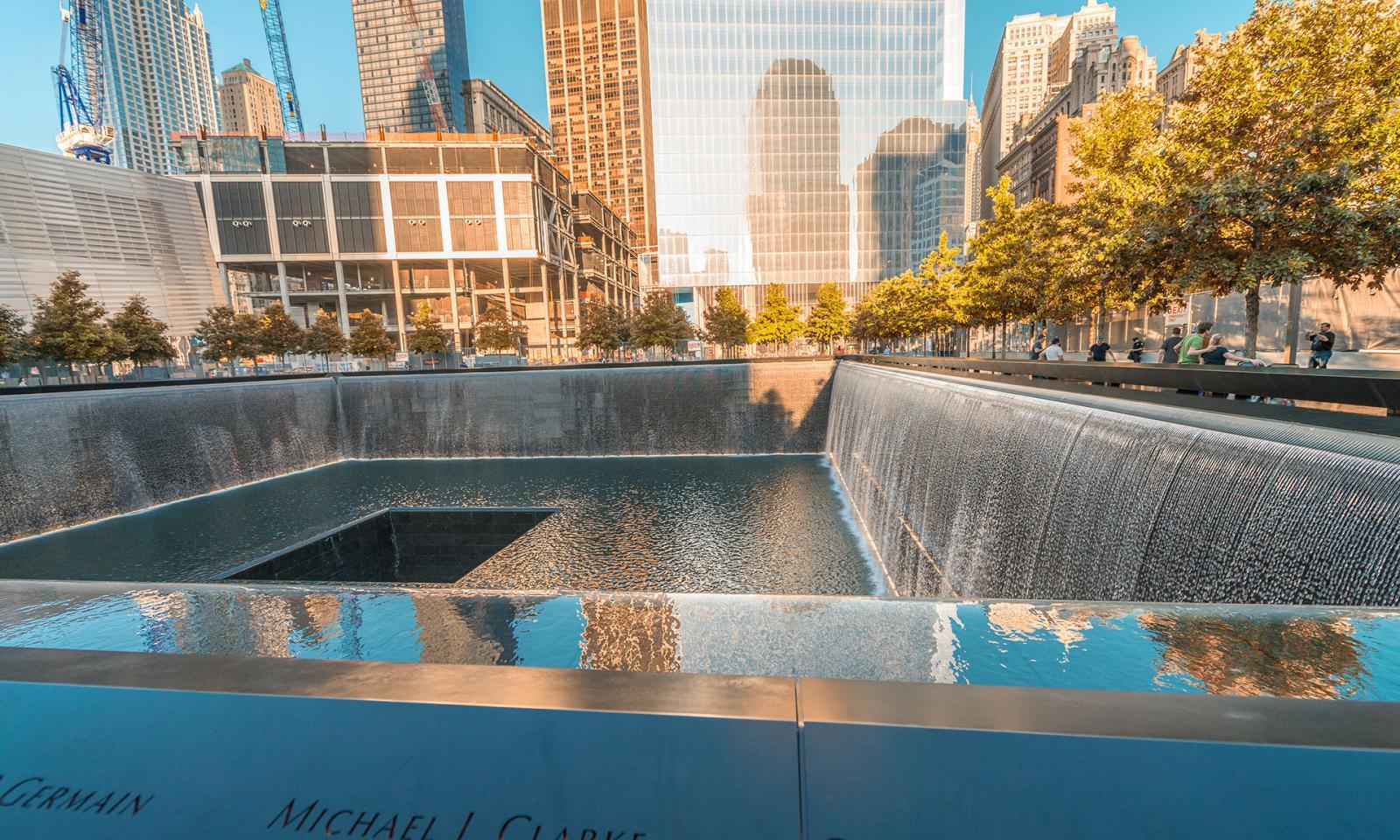 NYC World Trade Memorial